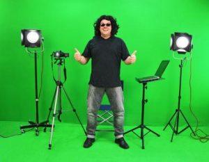 video marketing green screen