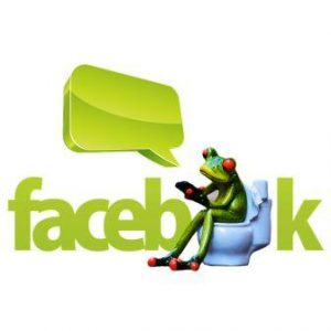 Facebook frog
